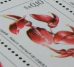 188 floral stamp 101238