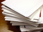 797 pile of paper 32837